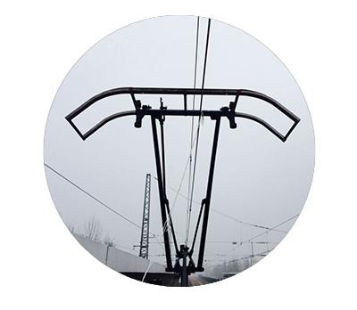 受电弓用碳滑板
